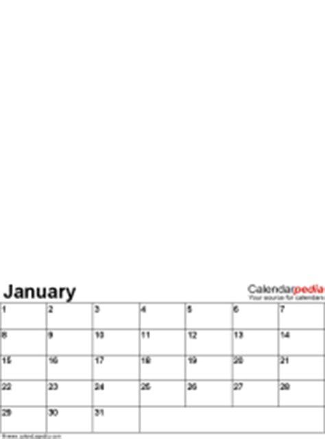 perpetual photo calendar  printable word templates