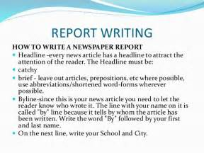 How Do I Write A Essay by How To Write An Article For A Newspaper