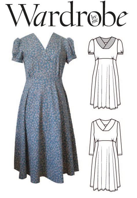 pattern for jersey dress romantic dress pdf sewing pattern jersey summer dress