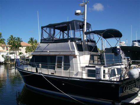 fast diesel boats 1995 sabreline fast trawler power boat for sale www