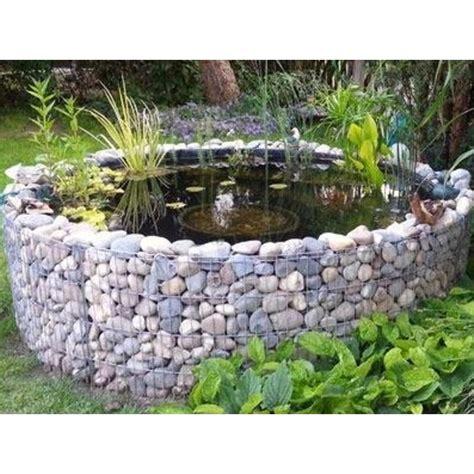 giardino artificiale laghetto artificiale da giardino con gabbione rotondo 248