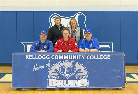Junior College Letter Of Intent Baseball Kcc Baseball Signs Zach Schultz Of Baroda Kcc Daily