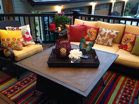 outdoor coffee table decorating ideas deco style