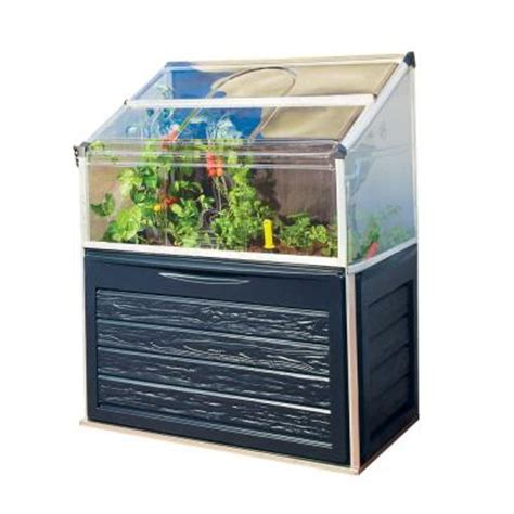 Small Greenhouse Home Depot Palram Plant Inn Compact 2 Ft X 4 Ft Polycarbonate
