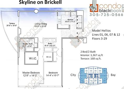 skyline brickell floor plans skyline brickell floor plans meze