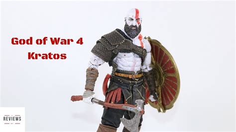 god of war review kratos is totally different and it neca god of war 4 kratos figure review youtube