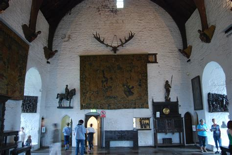 Decorative Tapestry Great Castles Profiles Bunratty Castle County Clare