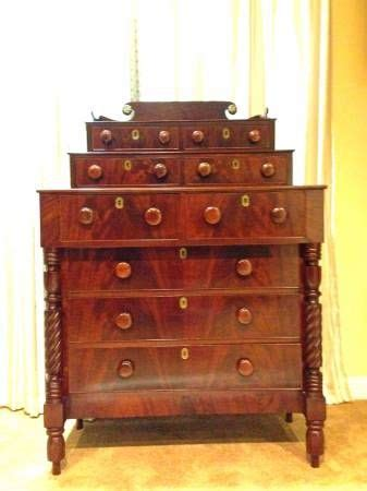 craigslist atlanta chest of drawers federal mahogany chest of drawers 800 queen of