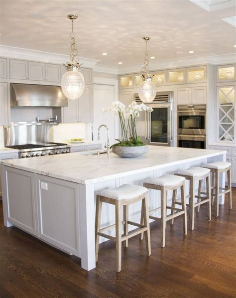 kitchens with large islands create a large kitchen island for yourself pickndecor com