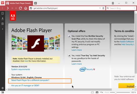 install adobe flash how to install adobe flash for vivaldi browser