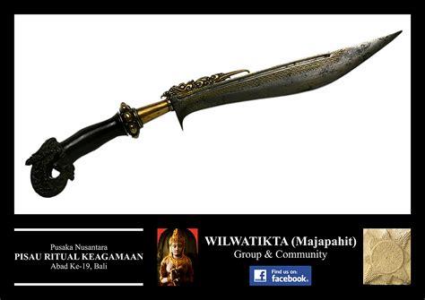 Pisau Bali pisau wilwatikta majapahit