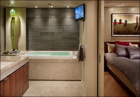 Decorating Ideas For Master Bedroom And Bathroom Magnetic Master Bedroom With Lovely Zen Bathrooms
