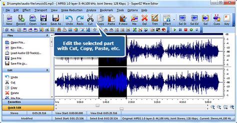 tutorial wave editor tutorial superez wave editor edit music