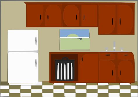 Cleaning Kitchen Cabinets kitchen clip art at clker com vector clip art online