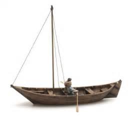 roeiboot modelbouw ruderboot 2 figuren 15 jahrhundert artitecshop