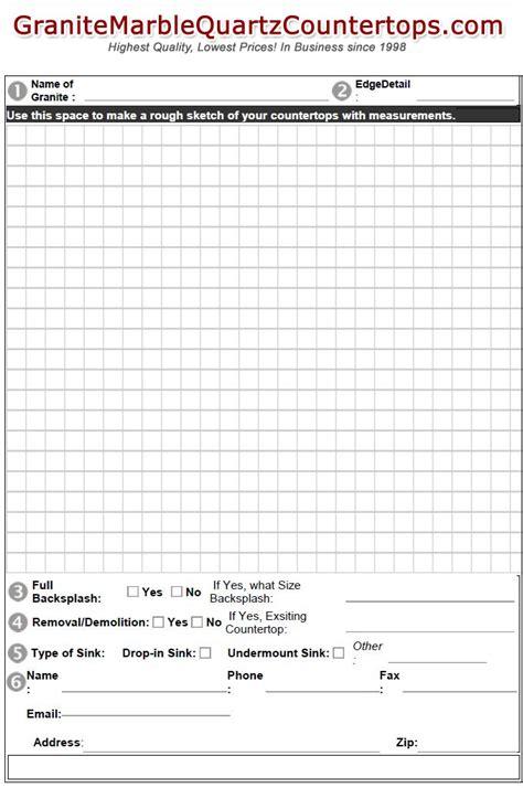 Granite Countertop Estimate by Granite Marble Quarts Countertops