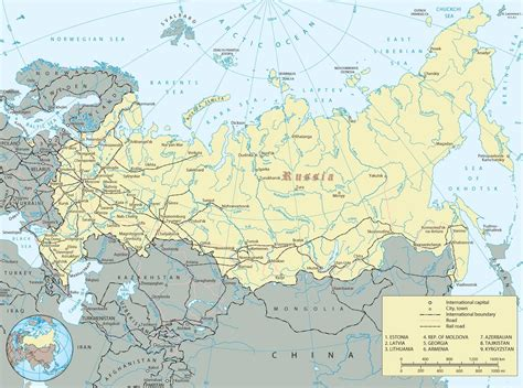 map of russia with cities in map of russian cities