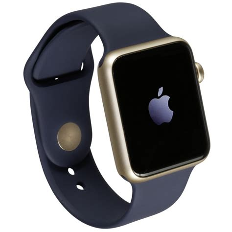 Apple Sport 38mm Gold apple 2 38mm gold alu with midnight blue sport