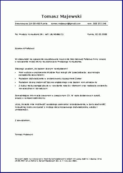 format zdjecia cv list motywacyjny prawie wszystko o cv i zmianie pracy