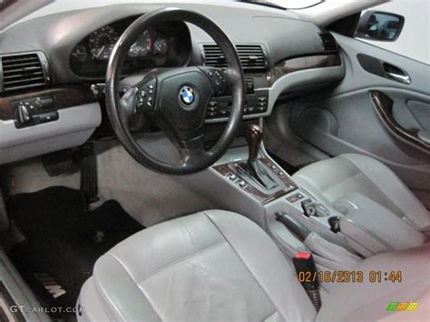 grey interior 2000 bmw 3 series 328i coupe photo 77352765
