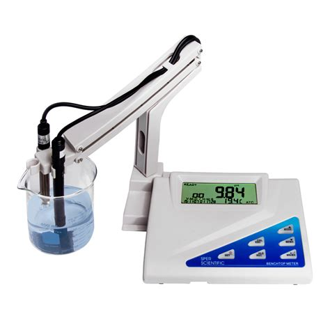 bench com ph ph meter test with mv lab equipment sper scientific