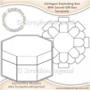 Exploding Card Template Exploding Box With Secret Gift Box Template Cu Ok 163 3 50