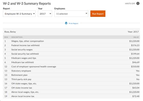 statutory employee w 2 employee w 2 summary report