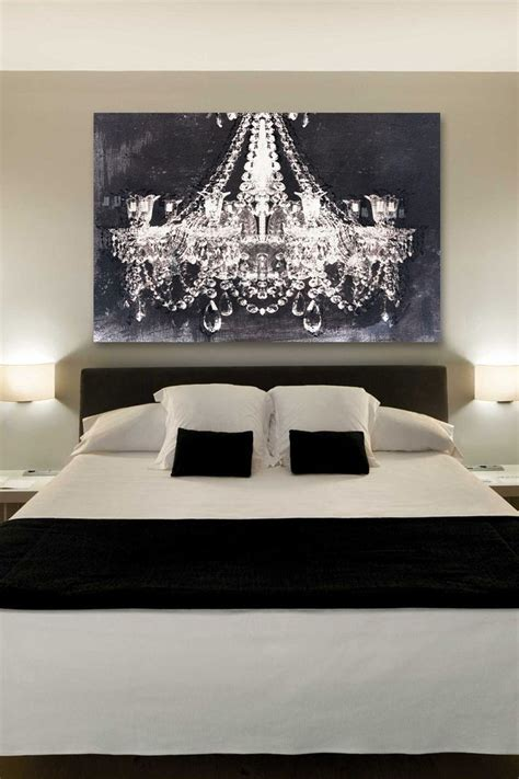 black and white paintings for bedroom dramatic entrance night canvas art diy pinterest the