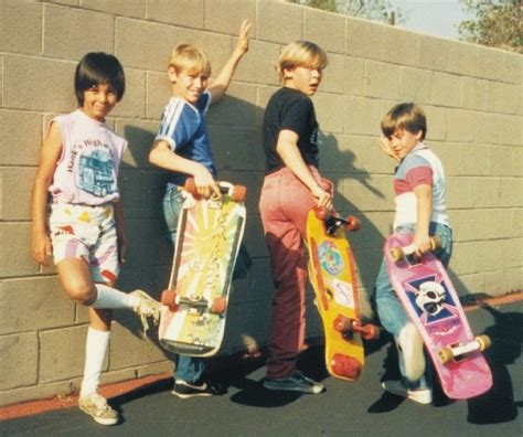 80s skater style 80 s skateboards and tie dye short shorts aw12