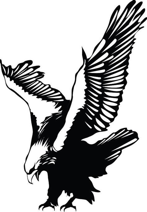 eagle tattoo clipart