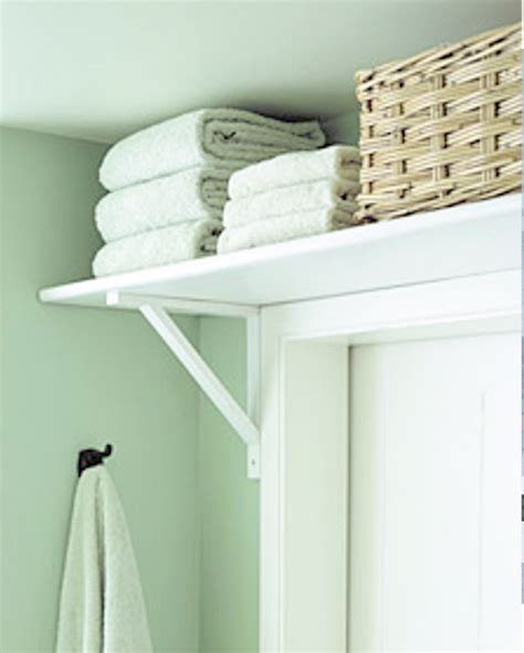 Shelf Above Bathroom Door by Diy Home Sweet Home Organizing Tips For The Bathroom