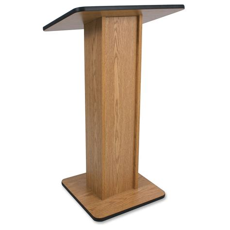 best depth and table livox elite lectern rectangle top 21 quot table top