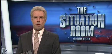 the situation room cnn snl mocks cnn s the situation room with wolf blitzer desperate petraeus coverage