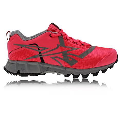 reebok waterproof running shoes reebok one seeker womens pink tex waterproof trail
