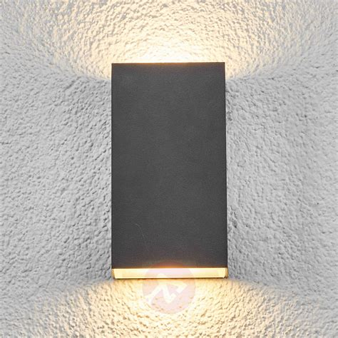 square led outdoor wall light weerd lights co uk