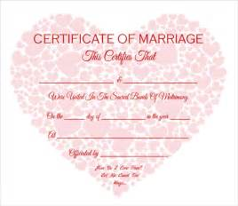 simple certificate template sle marriage certificate template 20 documents in