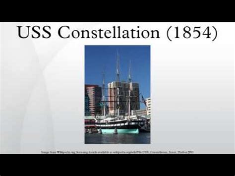 uss constellation (1854) youtube