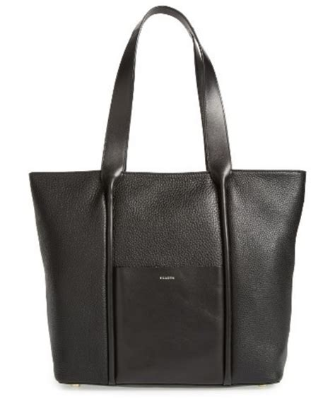 Skagen Lisabet Tote Black skagen スカーゲン の skagen large lisabet leather tote black
