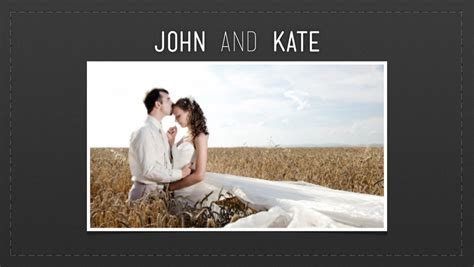 Wedding Powerpoint Ideas Powerpoint Wedding Slideshow Template 11 Wedding