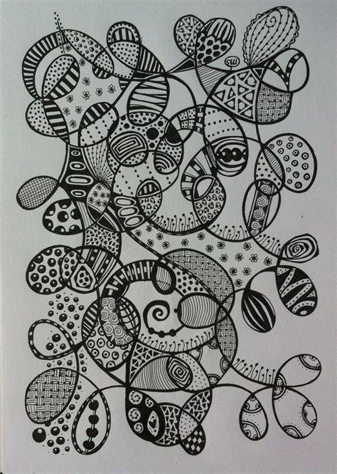 doodle fill 1000 bilder zu zentangle auf kreise muster