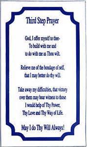 aa alcoholics anonymous third step prayer magnet m1 ebay