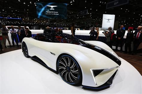 Electric Car Geneva Motor Show Techrules Ren Is A Diesel Electric Turbine Supercar With 1