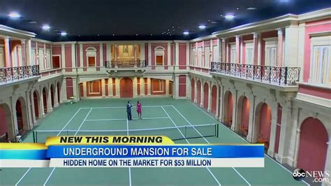 2 000 Square Feet underground mansion on sale for 50 million youtube