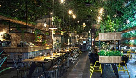 restaurant  israel   house grown herbs