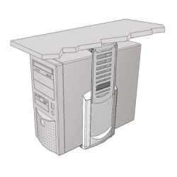 Flip Top Computer Desk Secure Flip Top Computer Desks No 1 Dual Desk Use Solution Mike O Dwyer Office Furniture
