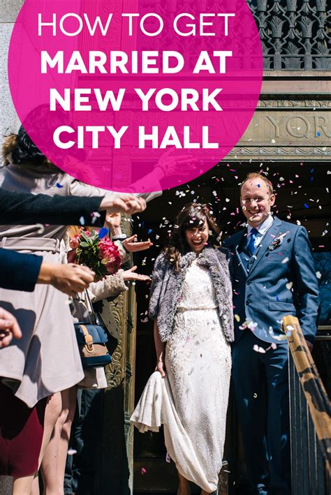 How To Get A Modern How To Get Married At New York City A Practical Wedding
