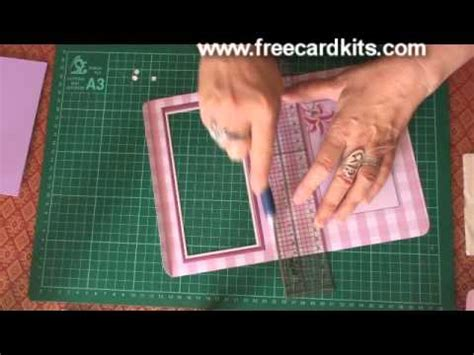 how to make an aperture card how to assemble an aperture card kit demonstration
