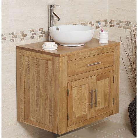 Solid Oak Bathroom Vanity Unit by Solid Oak Wall Mounted Vanity Unit Click Oak