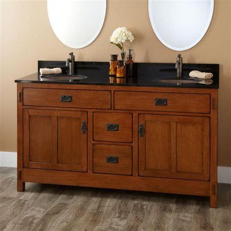 Undermount Sink Vanities And Craftsman Style On Pinterest Craftsman Style Bathroom Vanity