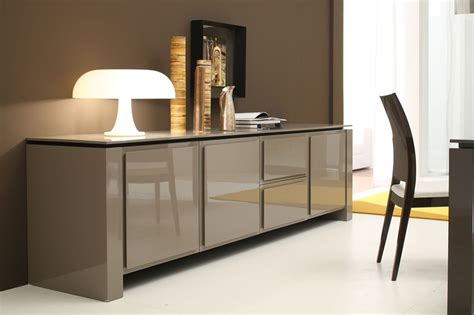 modern buffet furniture soft modern sideboard the brick